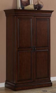 American Heritage Angelina Navajo Wine & Spirit Bar, Tall Cabinet,