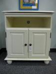 "Swivel Top, TV Stand, Cabinet, Manufacturer Ballard Designs, 17"" x 28"" x 31""h,  $279"