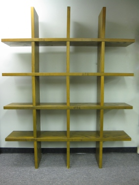 "Modular, Wall Shelves, High Quality, Made of Solid Oak, 80"" x 12"" x 80""h"