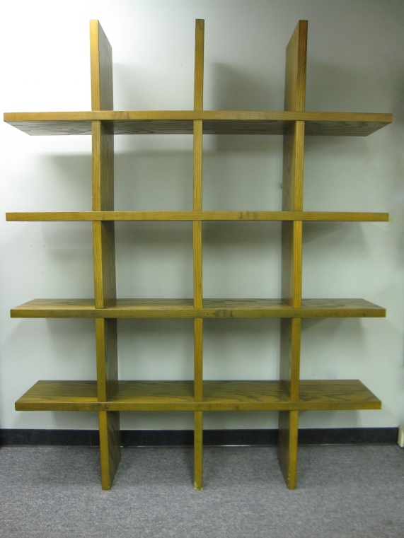 "Modular, Wall Shelves, High Quality, Made of Solid Oak, 80"" x 12"" x 80""h"