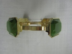 Emerald Cut, Gold Bracelet, $18