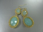 Double Drop Earrings, $38