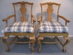Two Arm Chairs, Cane Seat,  $279  (1 Chair Cane Seat Damaged - $229)