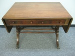"Vintage Mahogany Drop Leaf Desk,  24"" x 36"" 28""h, $489"