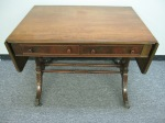 "Table, Desk Drop Leaf, Mahogany, Fine Arts Furniture Co., 24"" x 36"" x 28""h, $489"