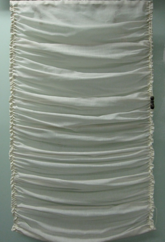 "Pair of Sheer Window Shades, 27.5""w x 44""l, $59 each"