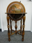 Vintage Globe on Stand, Made in Italy