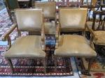 $229 REDUCED $172 each,  Mohair Arm Chairs, Mark David - Baker Furniture,