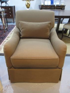 "Brand New Swivel Arm Chair, Manufacturer - Henredon, 34""w x 35.5""d x 36""h, $889 (Retail $2,730)"
