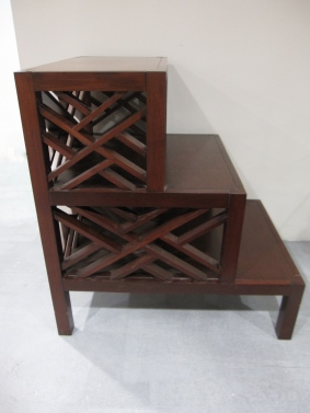 Side View of Williams Sonoma Side Table