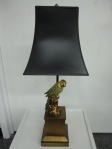 "Bird Lamp, Black Shade, 8"" x  20.5""h, $149"